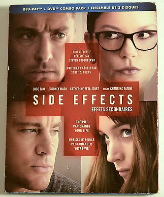 Side Effects (Blu-ray Disc, 2013) Only Blu-ray no DVD