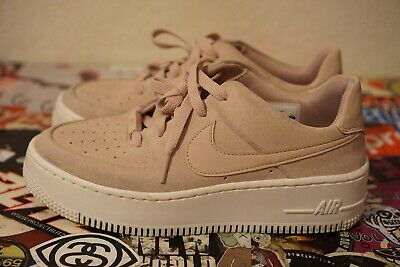 factory price 7c411 faeb5 USED PREOWNED NIKE Wmns AF1 Sage Low Air Force 1 Womens Shoes SZ6.5