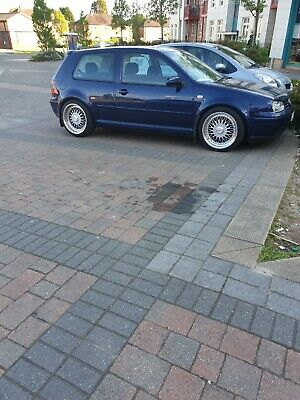 vw golf gt tdi pd150 met/blue