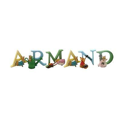 Official Licensed Beatrix Potter Peter Rabbit Boys Name Armand Alphabet Letters