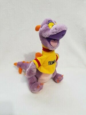 "Vintage Disneyland Disney World Figment 13"" Plush Purple Dragon"