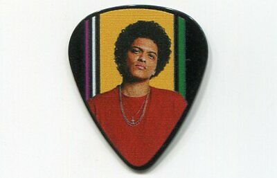 BRUNO MARS 2017 24K Magic Tour Guitar Pick!!! custom concert stage Pick TAIPEI