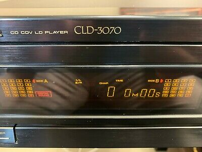 Pioneer CLD-3070 CD/Laser Disc player