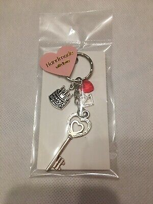 12th 13th 16th Crown Birthday Gift Keyring for Daughter Sister Niece Cousin #1