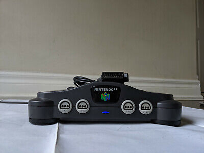 Nintendo 64 N64 HDRGB Amp Mod Region Free Replacement Console w/ Scart Cable+LED