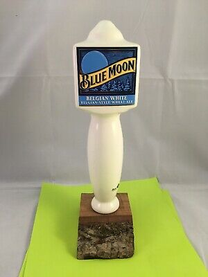 Beer Tap Handle Blue Moon Belgian White Beer Tap Handle Belgian Style Wheat Ale