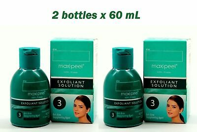 2x Maxi-Peel Exfoliant Soluti0n #3 Anti-Acne Smoothening 60ml