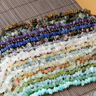 Wholesale Natural Freeform Loose Beads Strand Gemstones DIY Jewelry Making 33.5""
