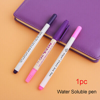 Sewing Tool Automatically Fabric Marker Double Head Erasable Pen Water Soluble