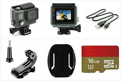 Used GoPro HERO+ LCD 1080p HD Action Camera touch screen waterproof 16GB SD card