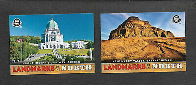 2018-19 OPC Coast To Coast Landmarks Of The North Cards - Lot of 2