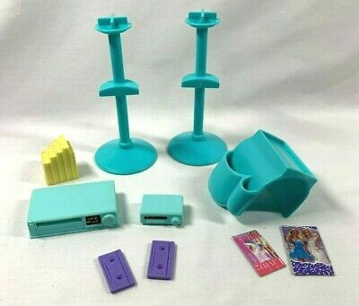 Barbie SO MUCH TO DO Family Room VCR TAPES Books STANDs Sweet Sounds Replacement