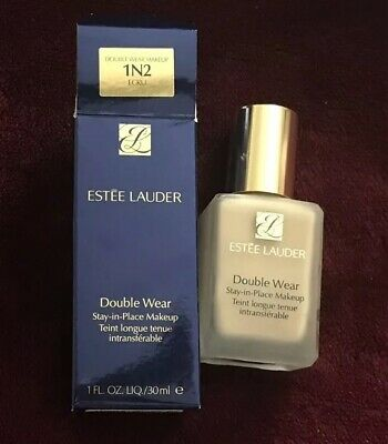 ESTEE LAUDER Double Wear Stay-in-Place makeup foundation 1N2 ECRU 1oz/30ml NIB