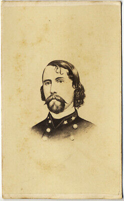 CIVIL WAR CONFEDERATE GENERAL A P Hill Ambrose Powell CDV CARTE DE VISITE