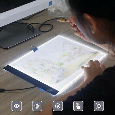 A4 LED Painting Tracing Board Drawing Art Artcraft Stencil For Kids drawing