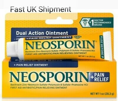 NEOSPORIN LARGE DUAL ACTION MAX STRENGTH ANTIBIOTIC OINTMENT 1oz (23.8g)