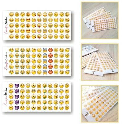 912 Emoji Sticker Schablonen Schnitt Vinyl Iphone 12 Blätter Smiley Kinder CC