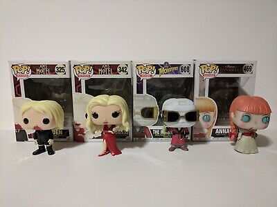 Funko Pop American Horror Story Holden, Countess, Movies Annabelle,Invisible Man