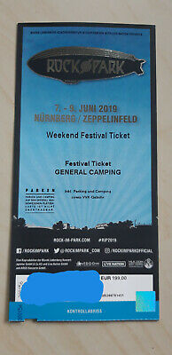 Rock im Park 2019 - Weekend Festival Ticket + Camping