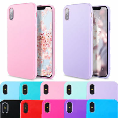 2bfa0593a5 Luxury Ultra Thin Slim Soft TPU Silicon Glossy Case For Apple iPhone X XS  Max XR