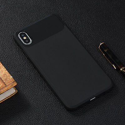 For Apple iPhone X/XS,XS MAX,XR,6,7,8 Plus, Ultra Slim Protective TPU Case Cover