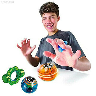 AB3D 06CA Blue Magnetic Spinner Ball Magic Spinner Ball Flashing Birthday Gifts