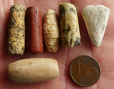 27mm Perle Ancien Néolithique Afrique Mali Ancient Neolithic African Stone Bead
