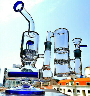 The PERC tyre recycler water pipe hookah bong ash catcher Glass shisha bubbler