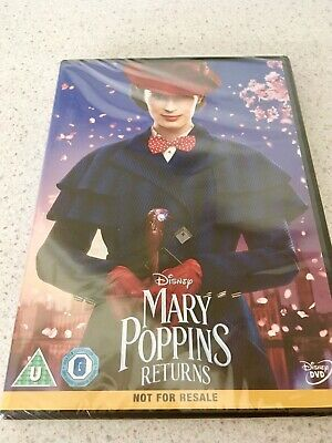 Mary Poppins Returns (Region 2 DVD - Brand New & Sealed)