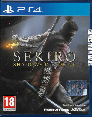 Sekiro Shadows Die Twice Ps4 Usato Italiano