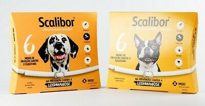 SCALIBOR Collar  - Treatment for tick and flea for Dogs (uk)
