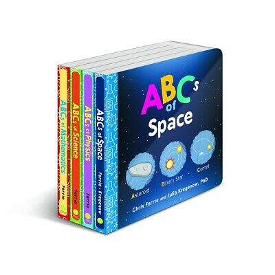 Baby University ABC's Four-Book Set Board book  2018 by Chris Ferrie