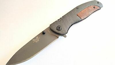 Benchmade Spring Assisted knife Outdoor tactical Combat EDC Folding Pocket