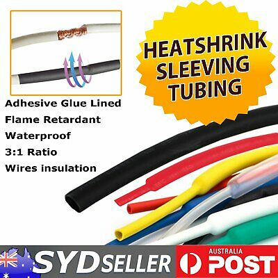 Heatshrink Tubing Glue Lined Heat Shrink Sleeving Wire Insulation Sealed Protect
