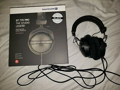 Beyerdynamic DT 770 Pro 80 Limited Edition Black - With original box