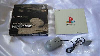 Official SONY PlayStation Mouse & Mouse Mat Set SCPH-1030 PS1