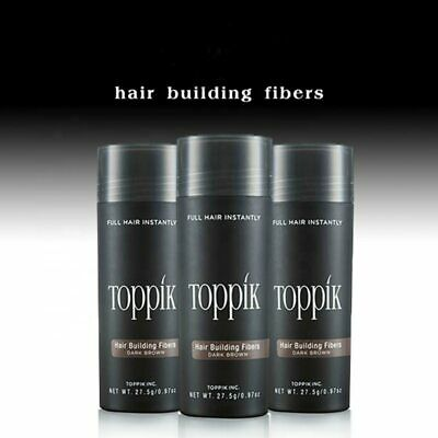 Toppik Hair Building Fibers 27.5g with 9 colors