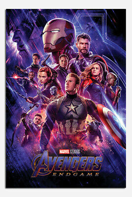 Stratifié Poster Avengers Endgame Journey's End Licence Officielle