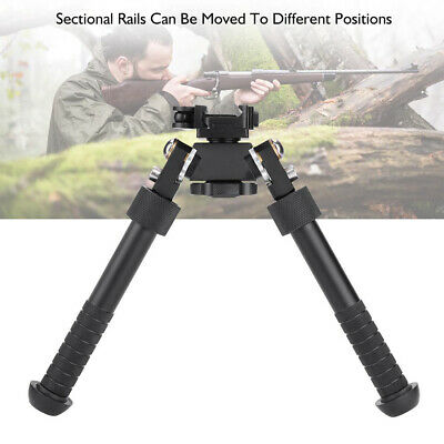 "V8 Atlas Bipod 360° Adjustable Legs for Outdoor Tactic Hunt Rifle 6''-9"" Surpris"