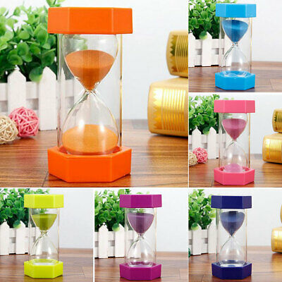 30 20 10 Minute Glass Sand Timer Kitchen Traditional