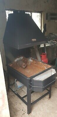 Blacksmiths coke forge great condition with front and back bosh and flue.