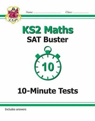 KS2 Maths SAT Buster: 10-Minute Tests (for the New Curriculum)-CGP Books