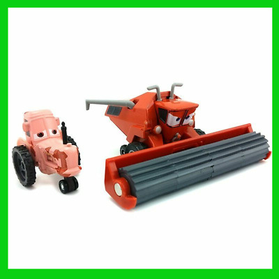 Pixar Cars Frank the Combine Harvester & Tractor Diecast For Children Gifts 1:55