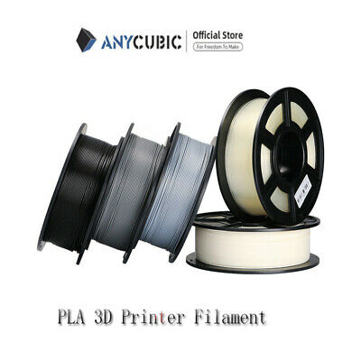 UK Anycubic 500g 1.75mm Colorful Premium 3D Printer TPU/Flexible Filament