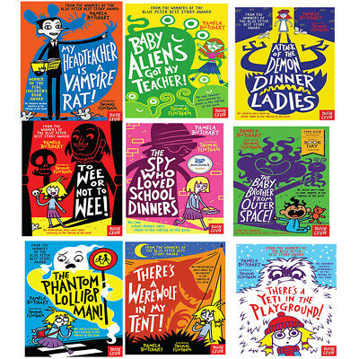 Pamela Butchart Baby Aliens Series 9 Books Collection Set There's A Yeti In