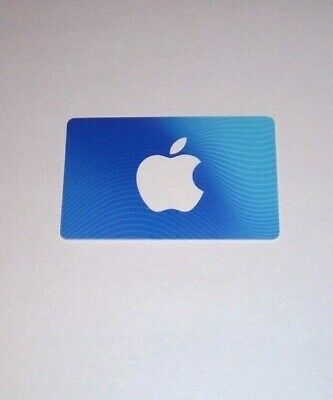 Apple Itunes $50 Card (for Music Downloads/Apple App Store)!!!