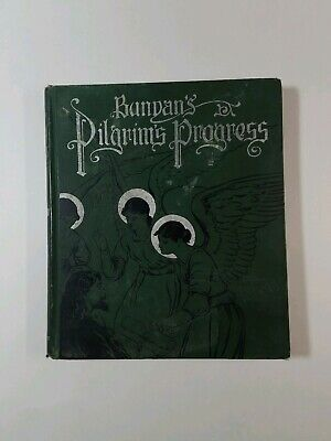 The Pilgrims Progress by John Bunyan Altemus Edition Hardcover 1891