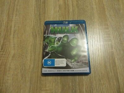 Hulk - Marvel Comics - 2003 - Region B Blu-Ray Disc - Like New