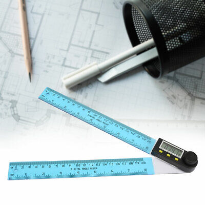 0-200mm Digital Angle Finder Protractor Goniometer Electronic Gauge Ruler DC34