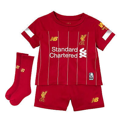 New Balance Official Kids Liverpool FC Home Infant Football Kit 2019-20